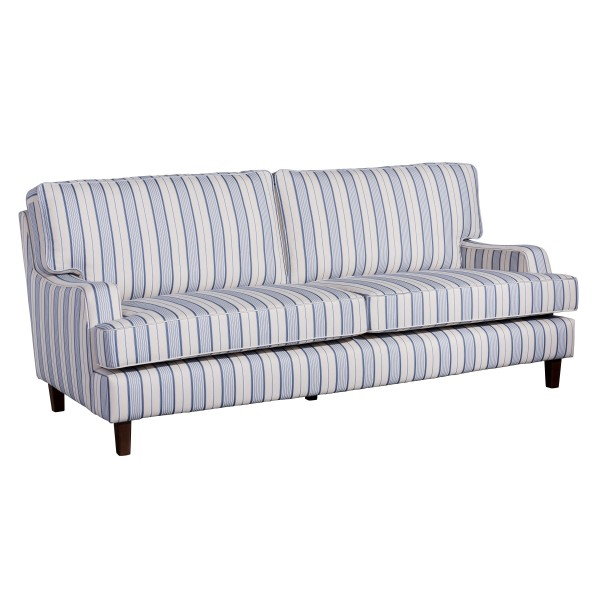 Sofa 3-Sitzer Pete Flachgewebe gestreift
