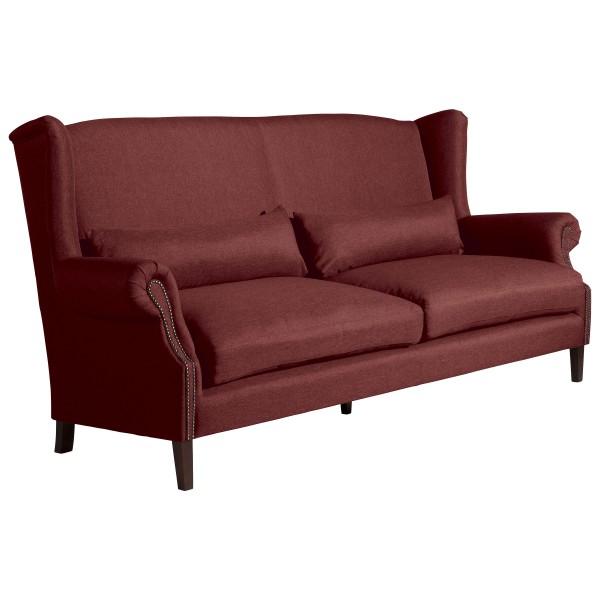 Sofa 3-Sitzer Flora Flachgewebe