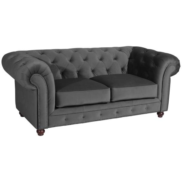 Sofa 2-Sitzer Orleans Samtvelours