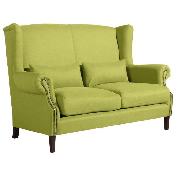 Sofa 2-Sitzer Flora Flachgewebe