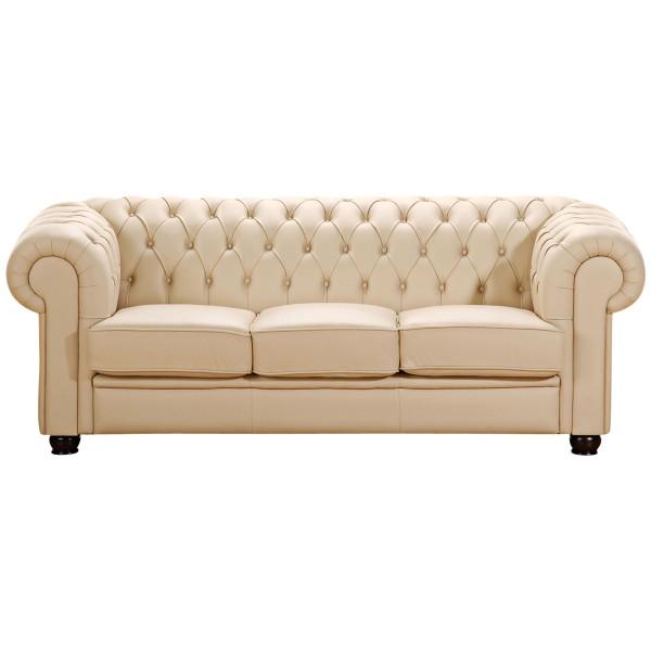 Sofa 3-Sitzer Chandler Kunstleder