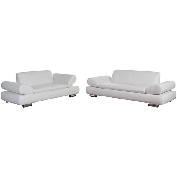 Sofa 2,5-Sitzer / Sofa 2-Sitzer Palm Bay feines Strukturgewebe