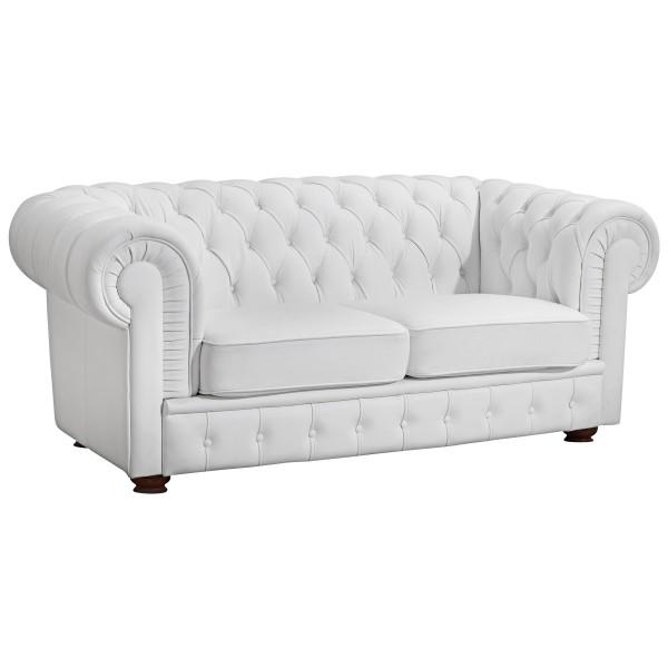 Sofa 2-Sitzer Bridgeport Kunstleder