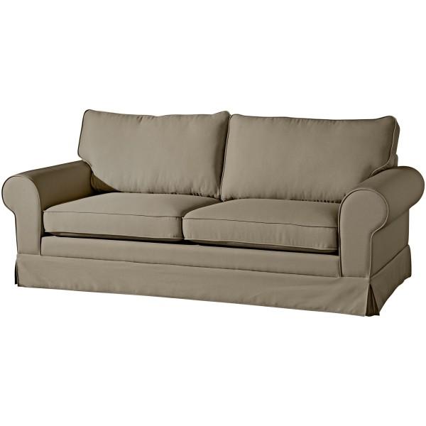 Sofa 3-Sitzer Hillary Flachgewebe