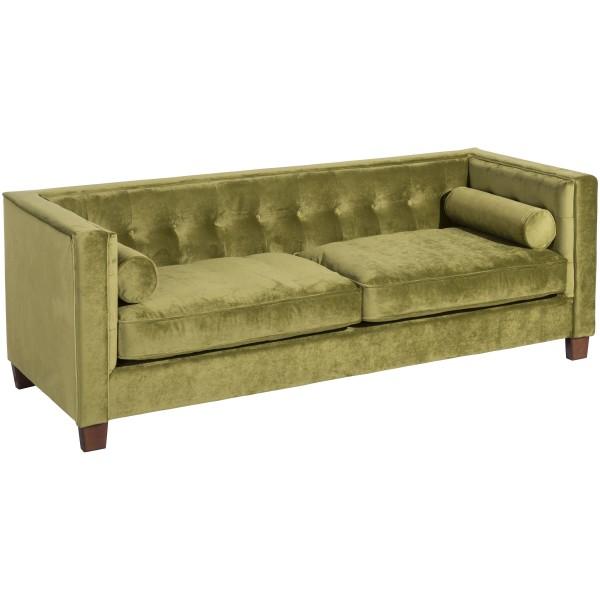 Sofa 3-Sitzer Jobbia Samtvelours