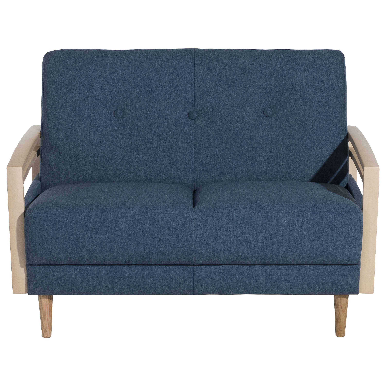 Sofa 2 Sitzer Jooris Microfaser In Filzoptik Teflon Beschichtet