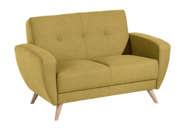 Sofa 2-Sitzer Jerry Microfaser (Filz-Optik)