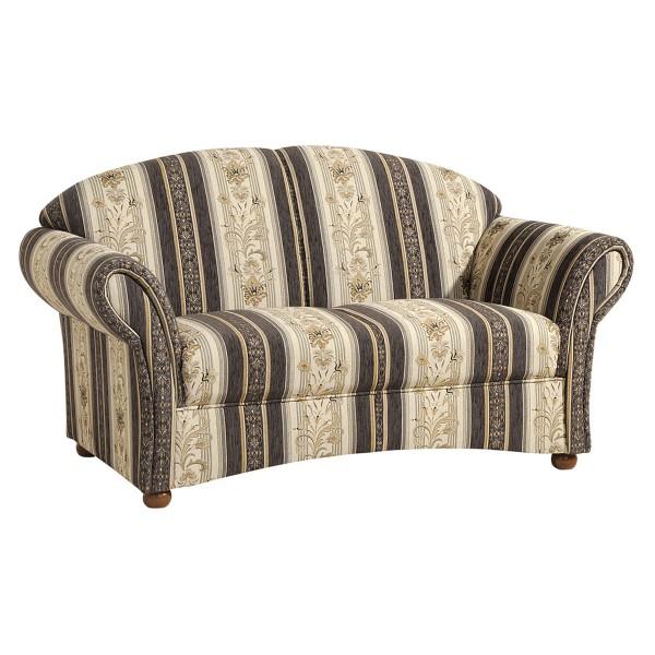 Sofa 2-Sitzer Corona Chenille gestreift