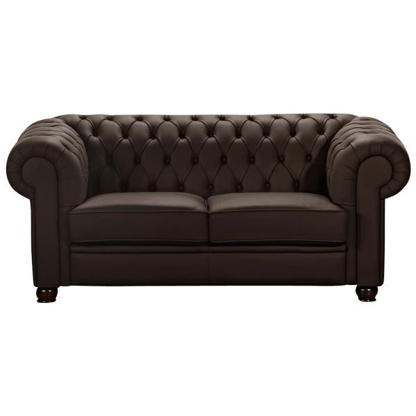 Sofa 2-Sitzer Chandler Nappaleder