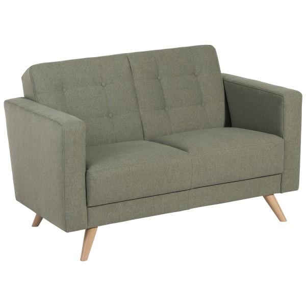 Sofa 2-Sitzer Julian Microfaser in Filzoptik