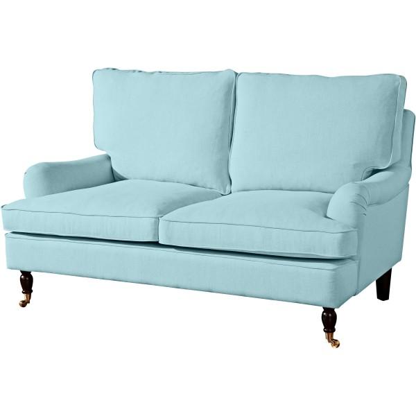 Sofa 2-Sitzer Passion Flachgewebe Leinenoptik