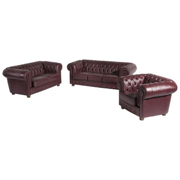 Sofa 3-Sitzer / Sofa 2-Sitzer / Sessel Bridgeport Wischleder