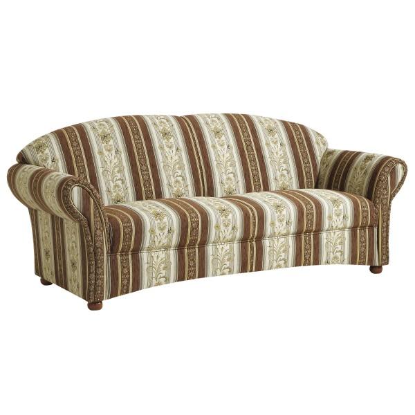 Sofa 2,5-Sitzer Corona Chenille gestreift