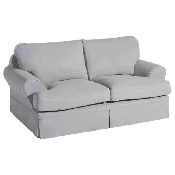 Sofa 2-Sitzer Hayde Flachgewebe