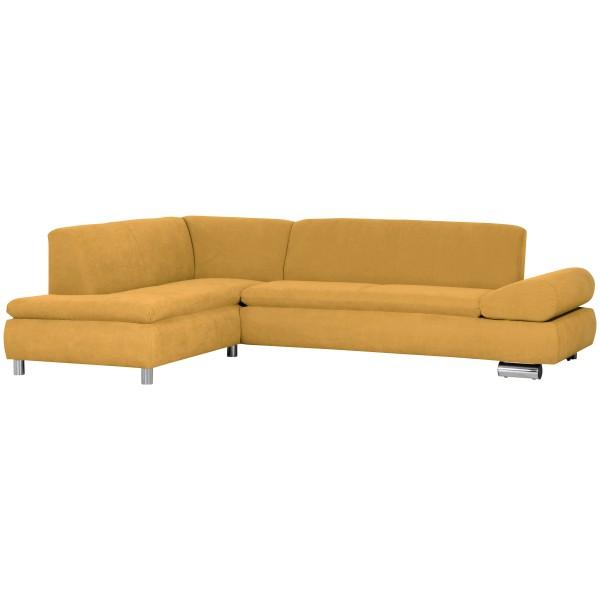 Ecksofa Palm Bay wahlweise links oder rechts mit Sofa 2,5-Sitzer Flachgewebe