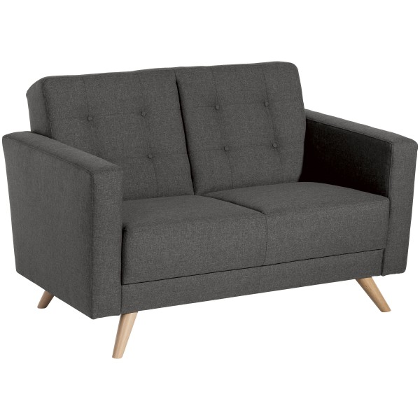 Sofa 2-Sitzer Julian Flachgewebe