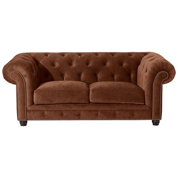 Sofa 2-Sitzer Orleans Microfaser